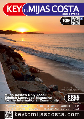 Key to Mijas Costa - front cover, issue 109