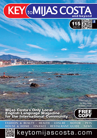Key to Mijas Costa - front cover, issue 115