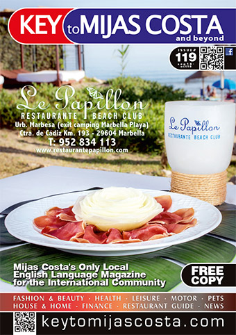 Key to Mijas Costa - front cover, issue 119